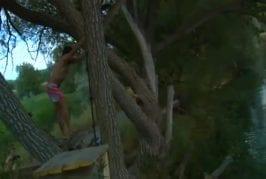 Accident de balançoire