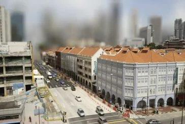 Tilt-shift time-lapse d'une grande ville