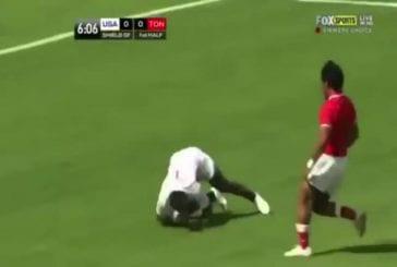 Un sprinter d'élite tente sa chance au rugby