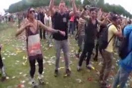 Dansje doen at Awakefest 2013 (Benny Hill) ORIGINAL