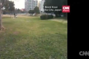 Fissures terrestres au Japon