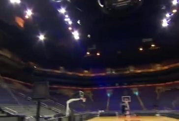 Record du monde du plus grand shot de basket-ball