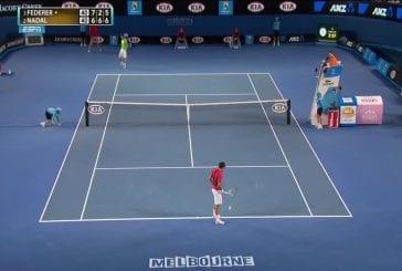 Incroyable ramasseur de balles à l'Australian Open