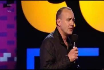Le comédien Jimeoin au Festival d'Edimbourg