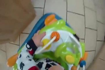 Publicité GoPro avec un bébé