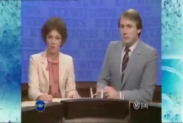 Bêtisier durant un journal télévisé
