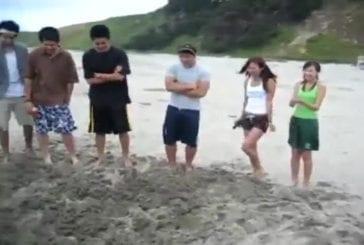 Creuser un trou ultra profond à la plage
