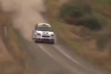 Gros accident de Mark Tapper au rallye de Nouvelle Zélande