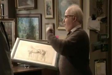 Vendeur de peintures de cheval déçu