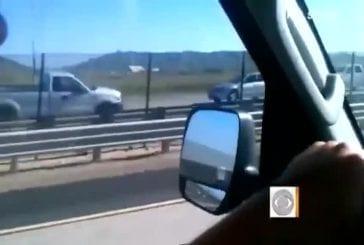 Terrible accident d'un conducteur roulant à contre-sens