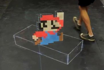Art 3D avec de la craie