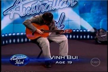 Le meilleur guitariste de l'émission australienne la nouvelle star