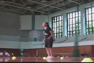 Record du monde de vitesse de saut à la corde