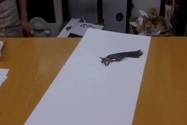 Peindre un superbe dragon à l'encre de chine