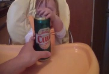 Bébé alcoolique
