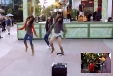Demande en mariage en flashmob à Disney Land