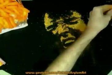 Peindre avec des cheetos