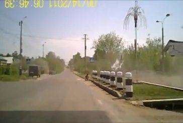 Camion sans freins renverse un piéton