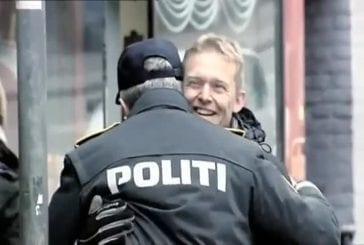 La police arrête les cyclistes