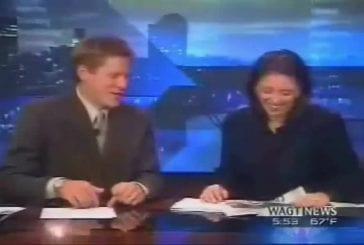 Journaliste pète en direct à la télévision