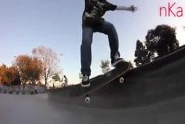 Enfant de 10 ans est un prodige de skateboard