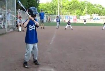 Jeune fait un incroyable triple play