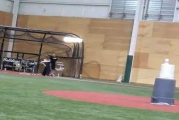 Incroyable précision au baseball