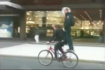 Méthode pour transporter des passagers sur un vélo
