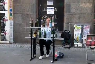 Impressionnant spectacle de rue