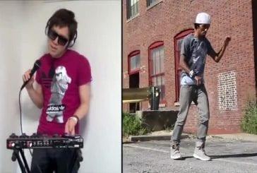 Collaboration entre un beatboxeur et un danseur