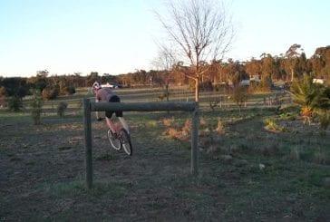 Incroyable trialiste vélo