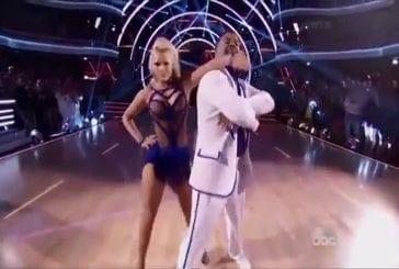 Carlton dans danse avec les stars