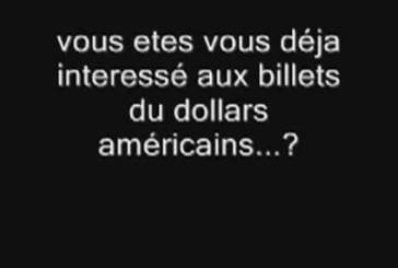 Les billets de dollars américains racontent une histoire