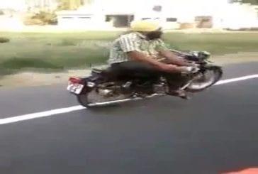 Un bon conducteur en Inde