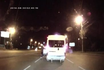 Rage au volant en Russie