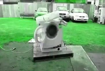 Machine à laver la danse à psytrance