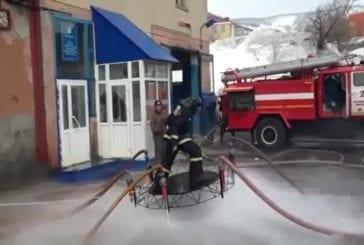 Comment russe pompiers tuer le temps
