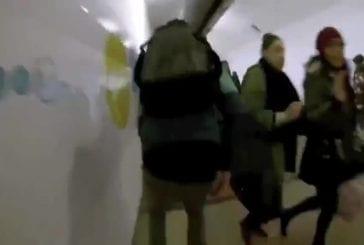 Roller à travers le métro de Paris