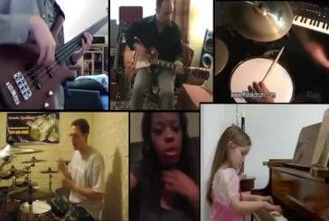 Clips de musiciens amateurs réunis pour faire une chanson incroyable