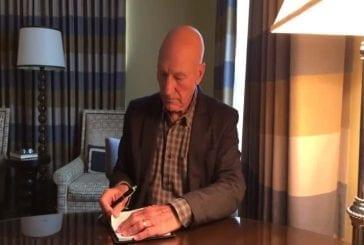 Le défi de seau à glace de Patrick Stewart