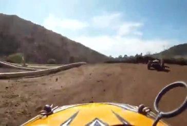 Course de voiture télécommandée avec GoPro