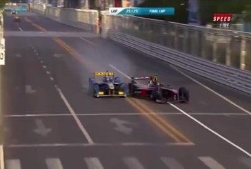 Heidfeld victime d'un terrible accident de F1 électrique
