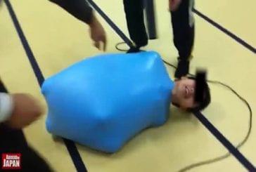 Une nouvelle façon d'utiliser un ballon