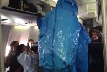 Ebola alerte sur US Airways vol