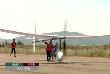 Tentatives de vol impressionnant à propulsion humaine