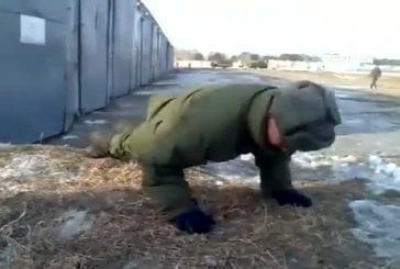 En Russie push ups que vous faites