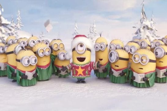Les mignons chantent Noël