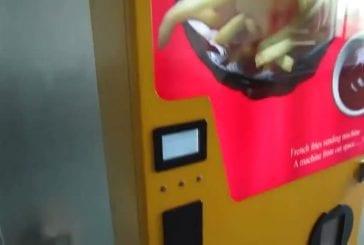 Nouveaux distributeurs automatiques de frites