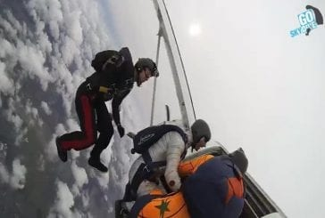 Halloween chute libre parachutisme