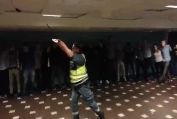 La sécurité se décompose fête à l'université Chalmers